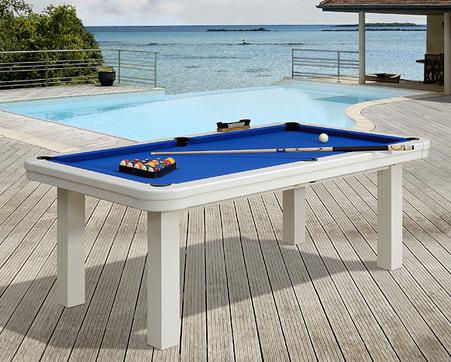 Billard plaisance seychelles table de billard d 39 ext rieur for Table exterieur restaurant
