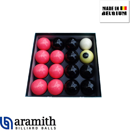 billes boules de billard anglais 8 pool aramith girly noires et roses. Black Bedroom Furniture Sets. Home Design Ideas