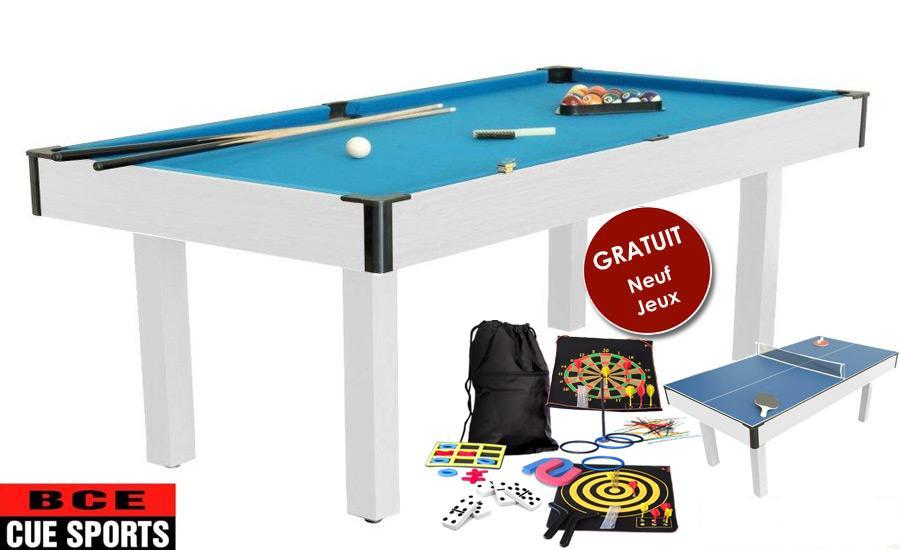 table billard transformable ping-pong