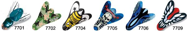 Ailettes de flechettes V-wing 7706 Harrows Darts    Ailette pour flechette soft